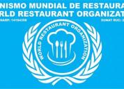 Organismo mundial de restaurantes  gastronomia