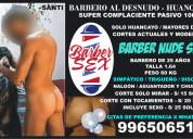Barbero al desnudo - discreciÓn absoluta