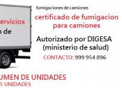 Fumigaciones de camiones 999954896