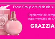 Focus virtual fragancia mujer