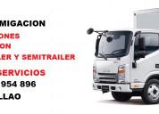 Fumigaciones de camiones, certificado de fumigacio