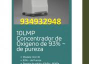 Concentrador de oxigeno - 10lpm