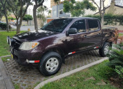 Toyota hilux 4x4 cd turbo dsl mecánica del año 200
