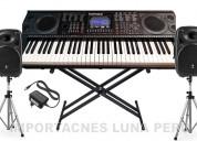 órgano piano teclado eléctrico musical
