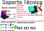 Soporte informático reparaciones / mantenimiento