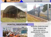 Construcciones soldaduras metÁlicas - metalcom g.p