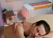 Terapias relajantes  para caballeros serio .lince