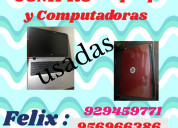 Computadoras compro felix 929459771