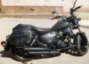 Vendo motocicleta pistera chopper