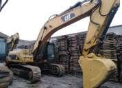 Excavadora caterpillar 336 dl ano 2011