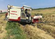 Vendo segadora de arroz world tlz 4 0