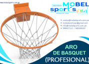 Aro profesional de basquet-mobel sport´s