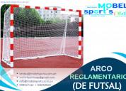 Arco de futbol y futsal -mobel sport´s