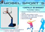 Tablero de basquet plegable transportable small