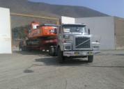 Transporte de maquinaria y equipo pesado