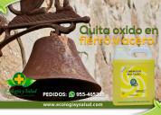 Eliminador ecológico de Óxido de acero y fierro