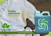 Removedor de manchas de sudor de axila  en la ropa