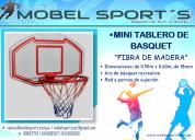 Tablero basquet para niÑos-mobel sport´s