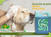 Shampoo ph7 ecologico para baños de mascotas