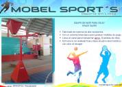 Equipo de mate-space saver-voley-mobel sports