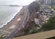 Vista al mar - larcomar dpto. alquiler miraflores