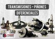TransmisiÓn - piÑÓn - diferenciales