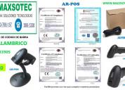 Monitor tactil maxsotec impresoras termicas lector