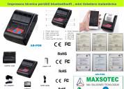 Impresora térmica portátil bluetoothwifi