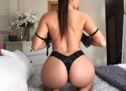 Paola sexy anfitriona colombiana