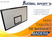 Tablero de basquet mini-mobel sports