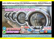 Reparación lavadoras-secadoras industriales lg