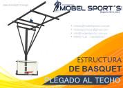 Tablero de basquet-techo-mobel sport´s sac