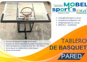 Tablero de baloncesto para pared-mobel sport´s