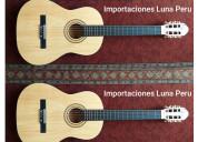 Guitarra clásica criolla acústica
