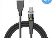 Cable magnÉtico 540° carga rapida datos micro usb