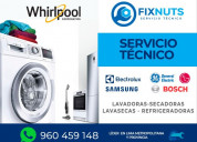 Servicio reparaciones de secadoras y lavadoras