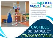 Tablero de basquet transportable-mobel sport´s