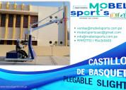 Castillos de basquet plegable slight-mobel sports