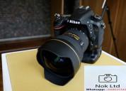 Nuevas cámaras canon y nikon disponibles