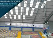 Canasta de baloncesto para techo