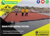 Membrana asfaltica - envios a todo el peru - brima