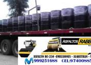 Venta de asfalto liquido rc-250 brea liquida