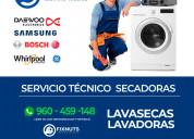Reparacion de secadoras y lavadoras jesus maria