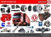 venta de repuestos para camiones y volquetes