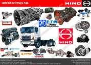 venta de repuestos para camiones hino