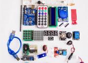 Kit inicio, arduino uno r3 rfid, starter kit.kit