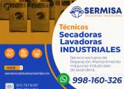 Industriales| reparación lavadoras-secadoras| lg