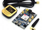 Modulo sim808 con gps, compatible con arduino y ra