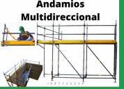 Alquiler andamios multidireccional