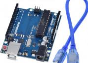 Arduino uno r3 atmega328p-pu compatible dip c/cabl